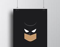 DC Comic's Minimalist Poster II