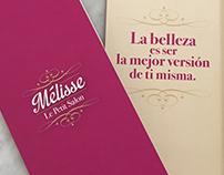 Carta de bebidas para salón de belleza - Mélisse