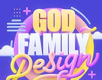 God Family Design | 3D Lettering