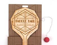 Paddle Ball / sustainable package redesign