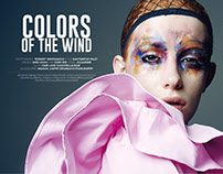 COLORS OF THE WIND - POSH MAGAZINE THAILAND MARCH 2017