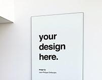 Free Poster Mockup PSD