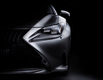Lexus RC 350 F-Sport fine art photography.