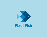 Pixel fish