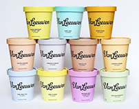 Van Leeuwen Artisan Ice Cream, Identity and Packaging