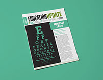 Education Update Newsletter Design