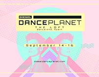 Diesel Dance Party - Design Boards