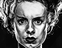 Classic Horror Portraits