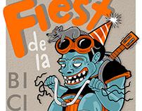 Fiesta de la Bicicleta - Poster