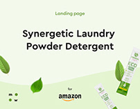 Synergetic Laundry / landing page