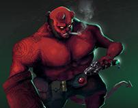 Hellboy's fanart