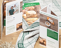 Bäckerei Bruckner: Corporate Design