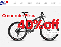 Web Site for Biker Comapny