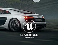North Run - Unreal Engine 4 RTX ON
