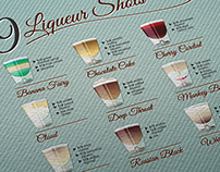 COCKTAILS & SHOTS / recipe posters