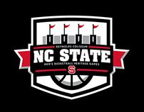 NC State Basketball Heritage Games Logo