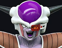 Frieza model for the Banpresto Figure Colosseum 2017