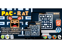 HTML5 Game: Pac Rat