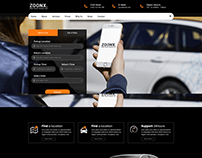 ZOONX – One Page Parallax
