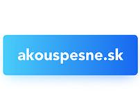 Branding for akouspesne.sk