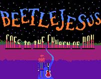 Pixel art music clip