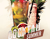 Cocktail Summer Flyer Template