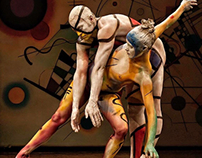 Kandinsky Mondrian Art Collaboration