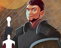 Dragon Age Tarot Portrait