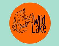 WILD LAKE: Catch & release bass fishing resort logo