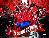 Afiches Película EL SUEÑO DE TODOS
