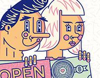 Illustrations for Dreamers Magazine