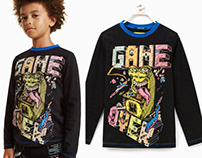 Desigual Kids Collection - Retrogaming Monsters