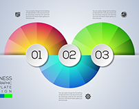 Download Business Infographics Concept Step Free