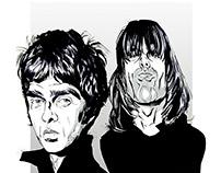 Oasis caricature