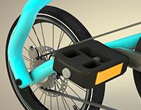Bicycle 3D - Strida