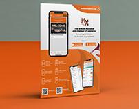 Flyer for The Spark Member App for MX Martial Arts.