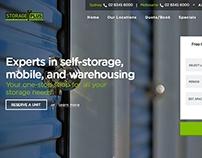 StoragePlus | Web Design