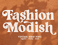 Fashion Modish / Vintage Letterpress