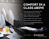 Backlit Displays - Embraer Executive Jets