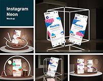 Instagram Neon