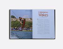 La Ventana | Yearbook Layout Designs