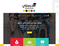 Madrasati Website Design UX/UI
