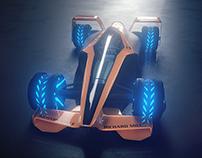 Mclaren F1 2050 Concept Car