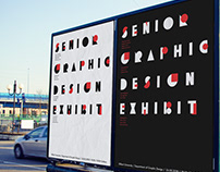 Visual Identity for Senior Graphic Design Exhibition