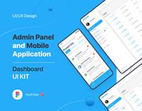 Admin Panel Dashboard UI Kit