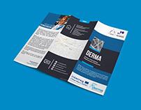 DERMA project flyers