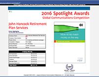 LACP Mailer Award - John Hancock