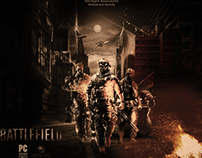 Poster For BattleField Game