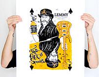 serigraphie Lemmy Kilmister