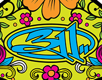 """T-shirt concepts for """"311""""."""